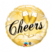 "Cheers Foil Balloon (18"") 1pc"
